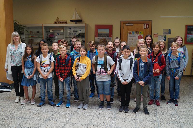67 neue Fünftklässler beginnen ihre Schulzeit an der Realschule in Schwarzach