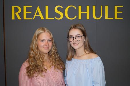 Die Realschule Rheinmünster hat zwei neue Schülersprecherinnen