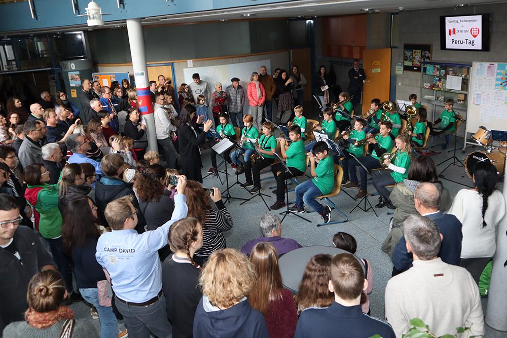 Jubiläums-Peru-Tag an der Realschule Rheinmünster stößt auf große Resonanz