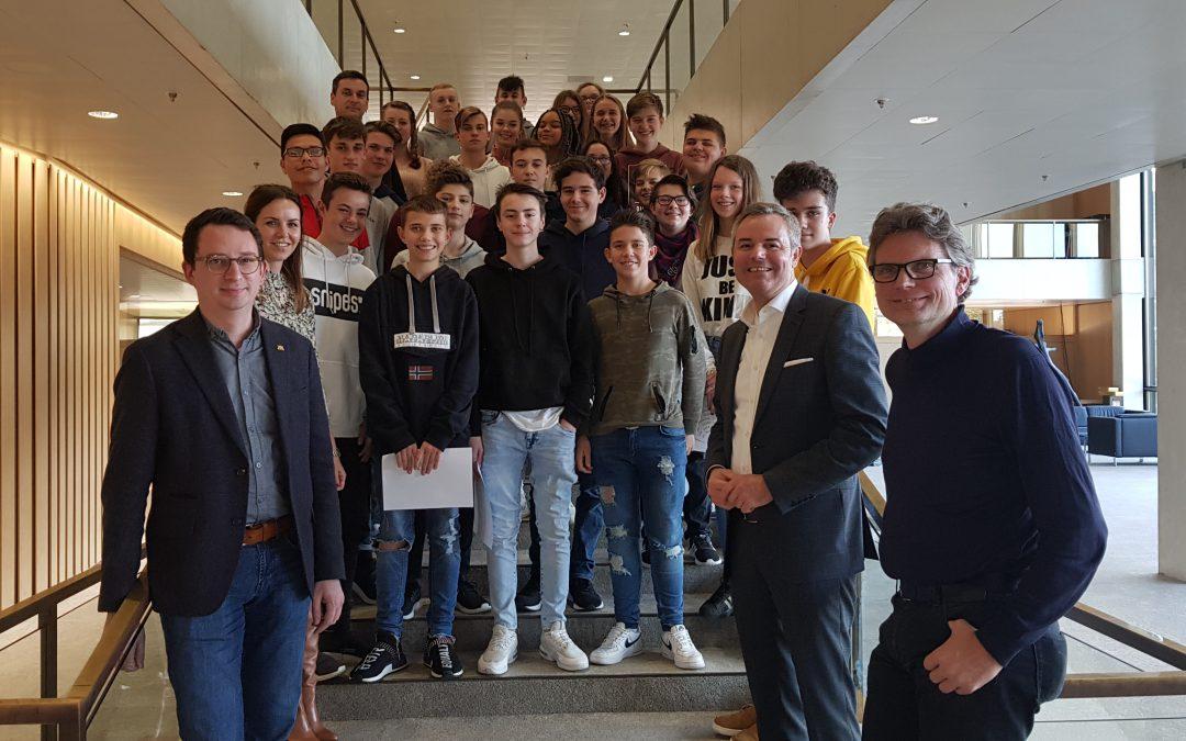 Besuch des Landtages der Klasse 9c