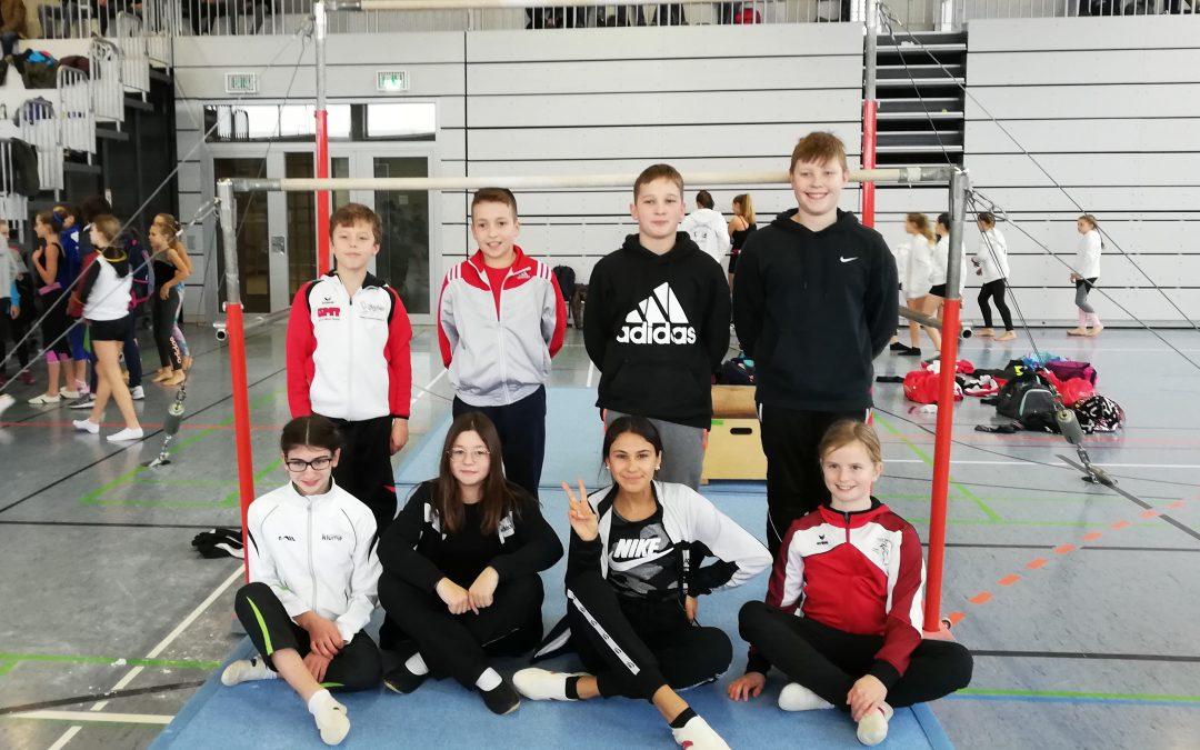 Realschule Rheinmünster erfolgreich bei Jugend trainiert für Olympia im Gerätturnen