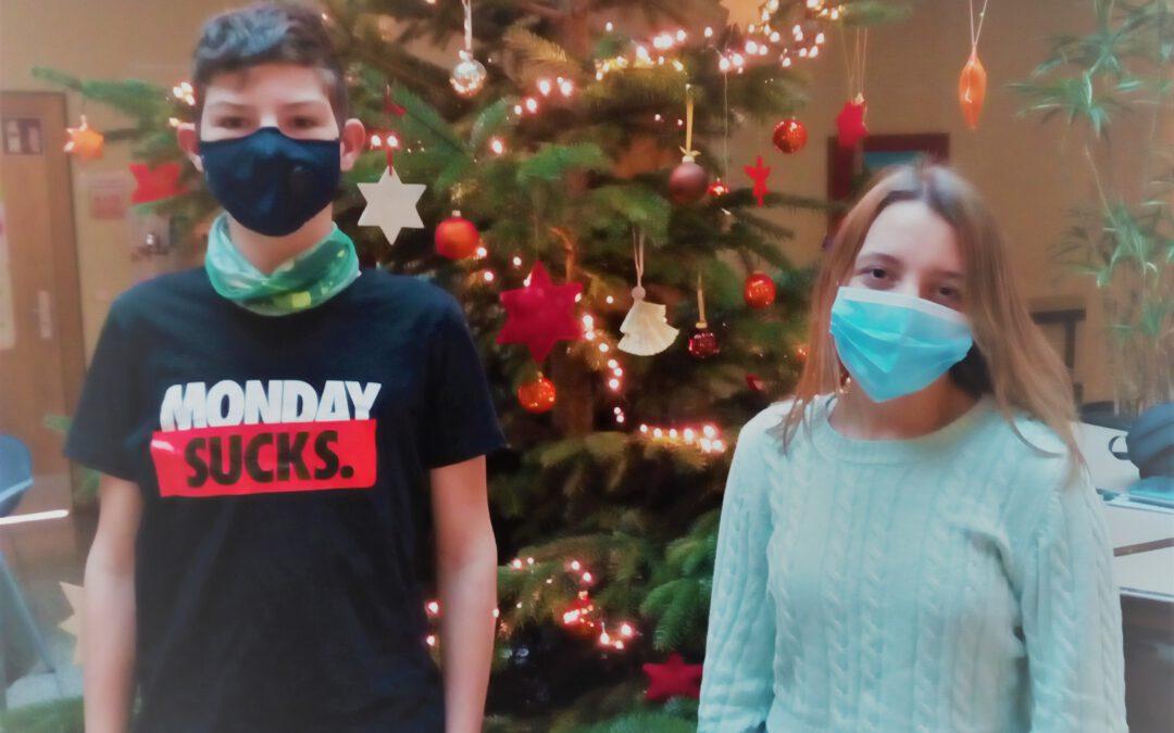 Weihnachtsgruß der Schülersprecher nach Peru