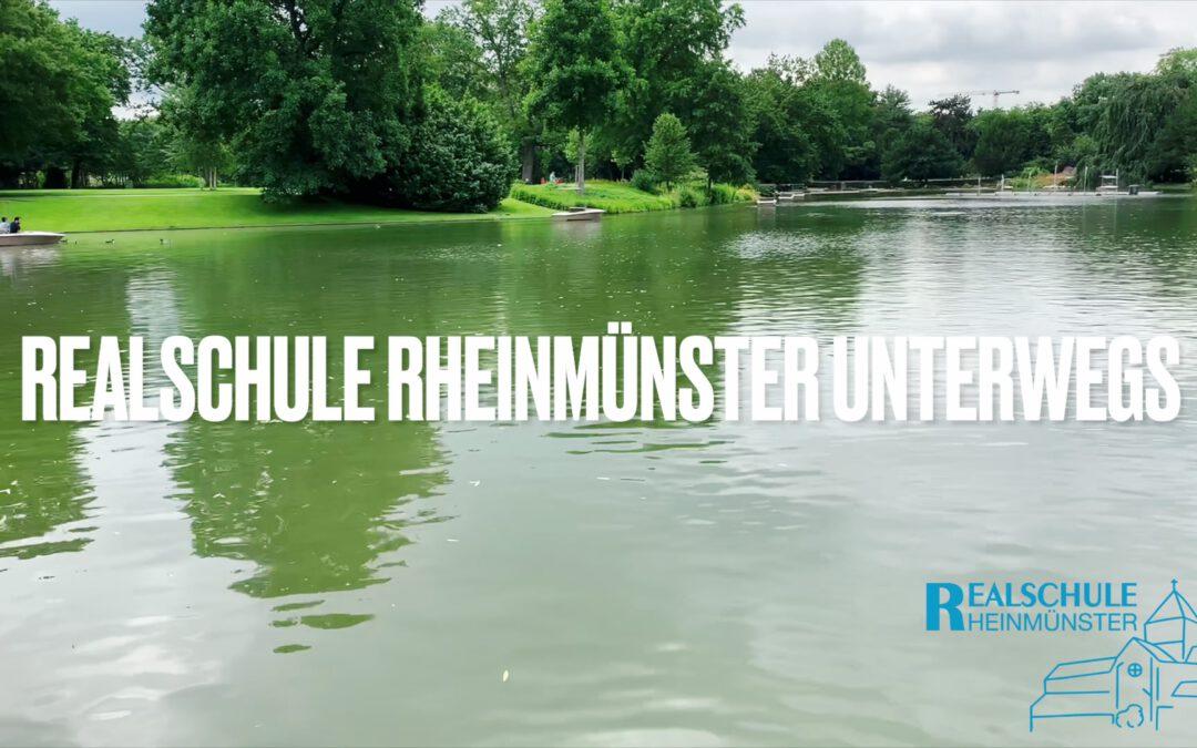 Realschule Rheinmünster unterwegs